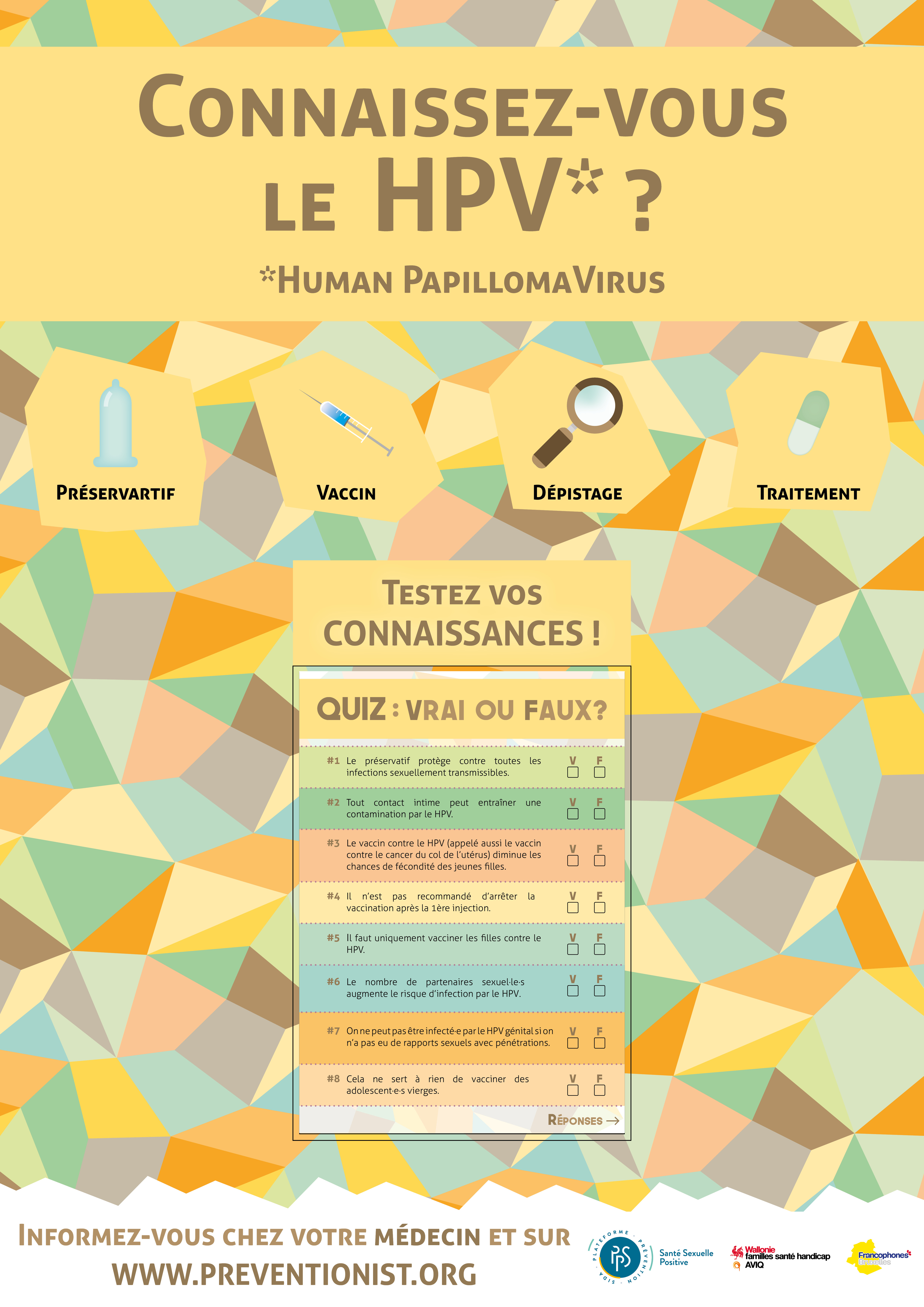 hpv preservatif a vie
