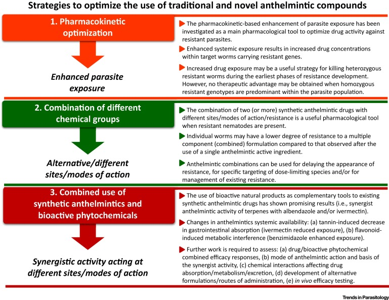 how do anthelmintic drugs work