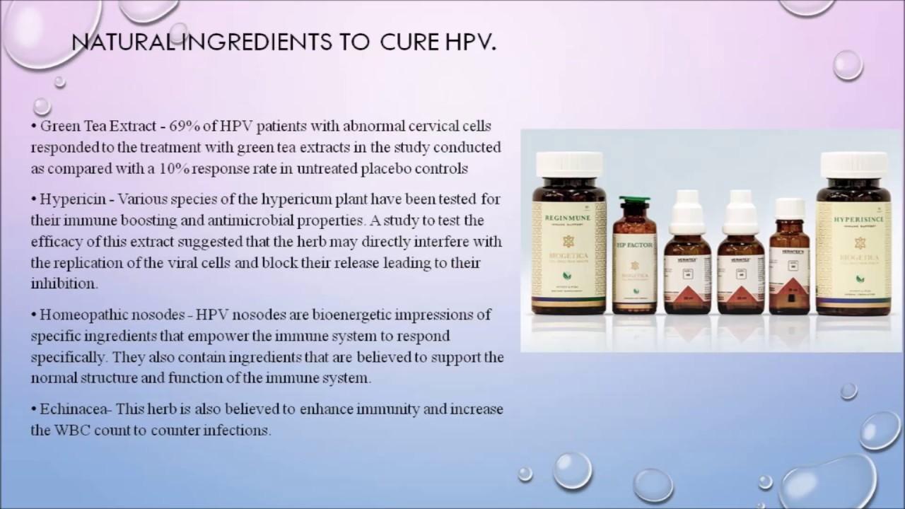 hpv virus natural treatments