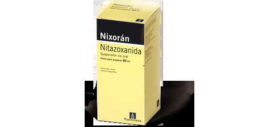oxiuros nitazoxanida)