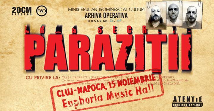 parazitii cluj 2019 bilete