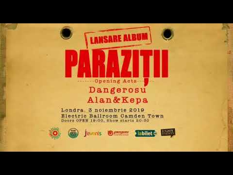 Bilete Londra: Parazitii - 3 Nov, - Electric Ballroom - Kooltix