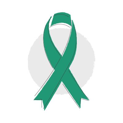 peritoneal cancer ribbon