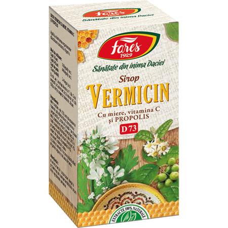 Wormex sirop împotriva paraziților intestinali, 200 ml