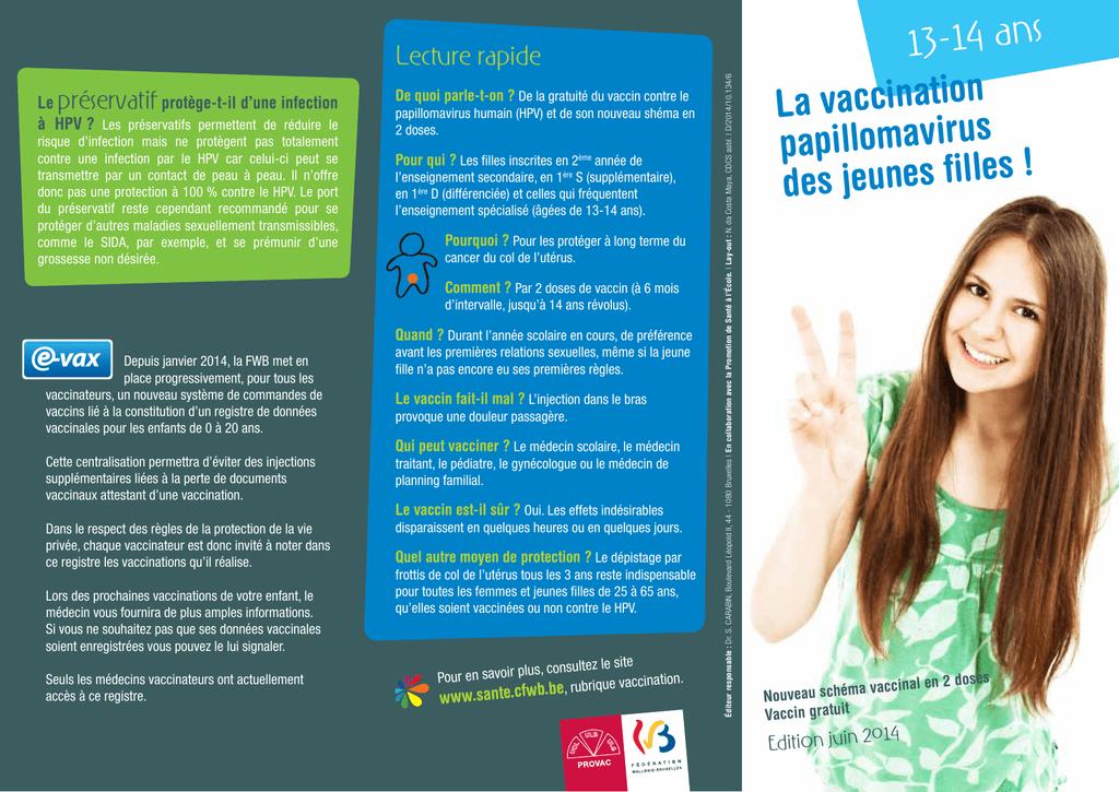 vaccin papillomavirus fait il mal)