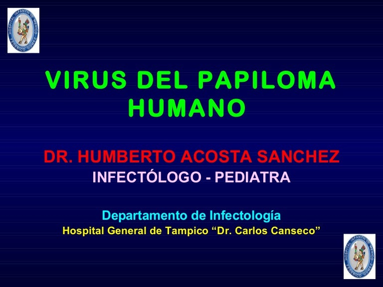 virus papiloma humano diapositivas